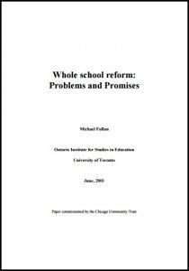 Whole school reform