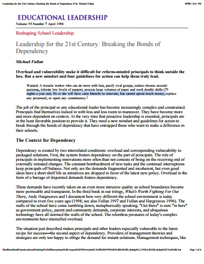 leadership in the 21st century essay View this thesis on leadership for 21st century a aside the threat of cheap imports the modern leaders also fear the possibility of losing their best staff.