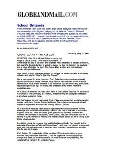 School Britannia