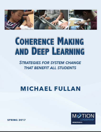 Resources and Handouts - Michael Fullan