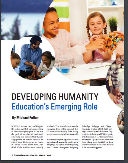 Articles - Michael Fullan